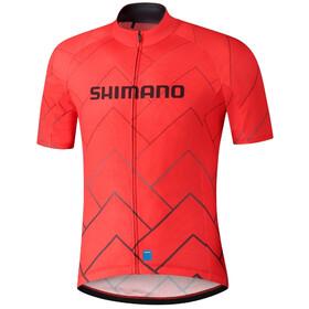 Shimano Team Jersey Men, czerwony